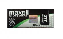 Caja de 10 pilas 377 Maxell