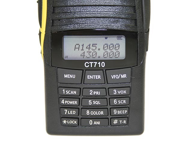 CT710 MIDLAND ALAN walkie DOBLE BANDA VHF/UHF