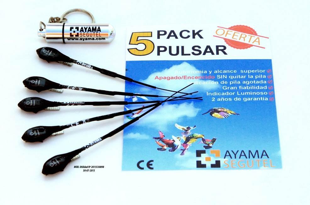 Pack 5 Transmisores Pulsar