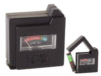Comprobador baterias/pilas